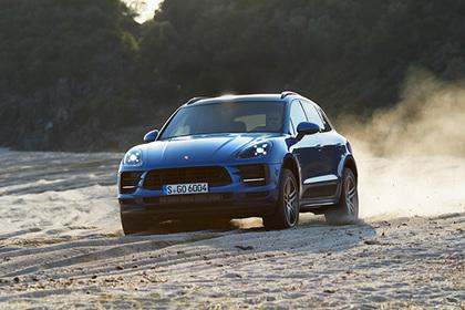 Европейцам показали новый Porsche Macan