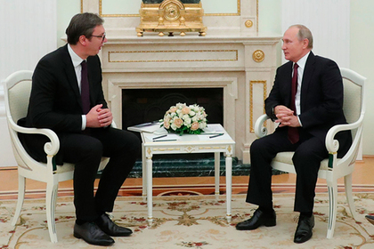 Президент Сербии пожаловался Путину