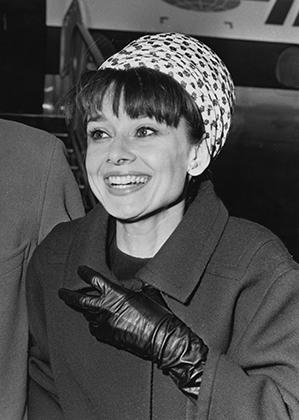 Одри Хэпберн в Лондоне в 1964 году