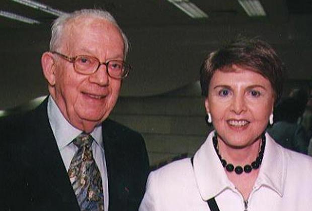 Раймонд Саклер и его жена Беверли