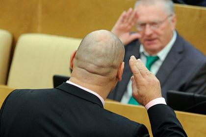 Жириновский и Валуев поддержали Нурмагомедова