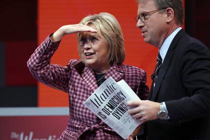 Клинтон сравнила «российское вмешательство» с терактами 11 сентября