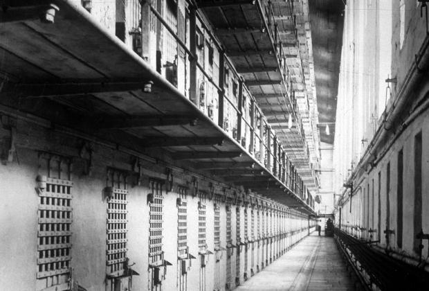 Коридор тюрьмы Синг-Синг