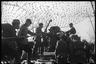 Артиллерия ПМ. Чехословакия. 2-й Украинский фронт, 1945 год.