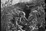 Переносная рация за работой. Южный фронт, 1944 год.
