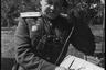 На командном пункте дивизии у границ Восточной Пруссии. 3-й Белорусский фронт, 1944 год.