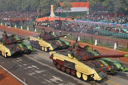 Индию заинтересовали русские танки Т-14 «Армата»