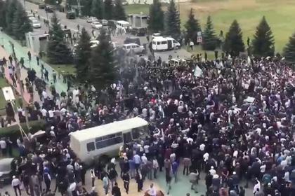 В Ингушетии ратификация соглашения с Чечней прошла на фоне массовых волнений