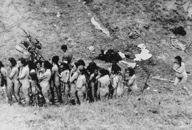Расправа над украинскими евреями в годы Второй мировой войны