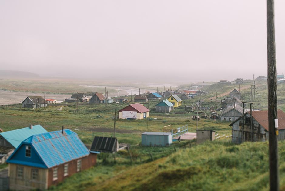 Нижняя, старая часть села Никольского