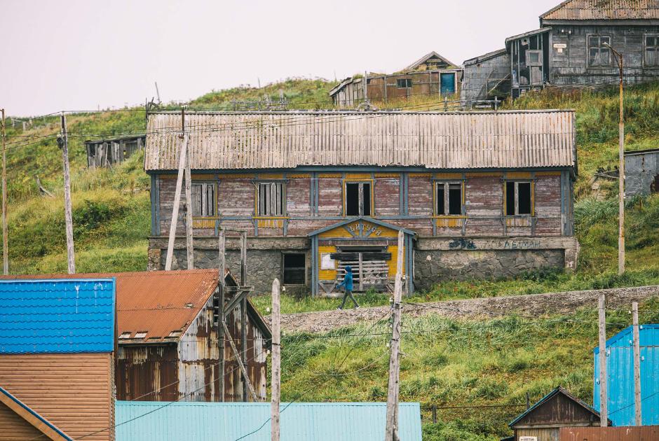 Заброшенный дом в Никольском