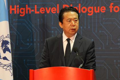 Президент Интерпола Мэн Хунвэй пропал в«Поднебесной»