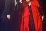 Лидер группы Queen Фредди Меркьюри и Монсеррат Кабалье во время концерта на официальном открытии культурной олимпиады в Испании, 1980-е. Кабалье с Меркьюри часто выступали вместе. В 1987 году на Ибице они впервые представили публике совместный альбом Barcelona.