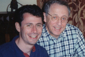 Адам Анханг с отцом