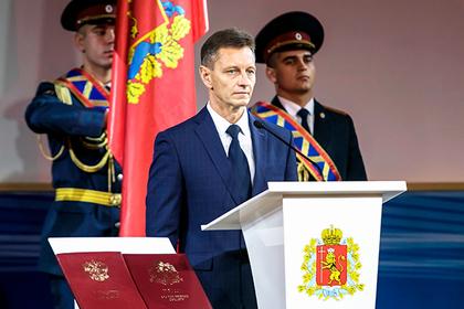 ЛДПР устроила своему губернатору самую представительную инаугурацию