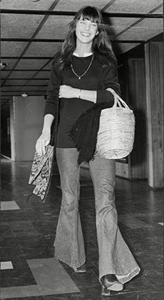 Джейн Биркин в 1971 году