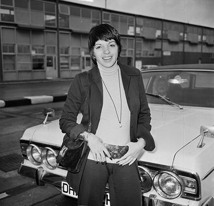 Лайза Миннелли в нью-йоркском ночном клубе Studio 54 (1978)