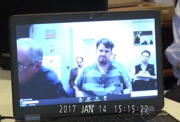 Кристофер Дантч дает показания