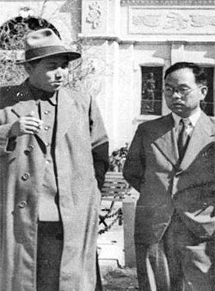 Ким Ир Сен и Пак Хон Ён