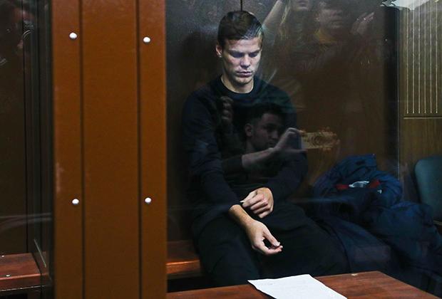 Александр Кокорин в Тверском суде Москвы