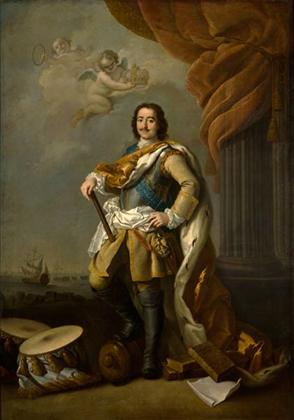 «Портрет Петра I», 1795 г.