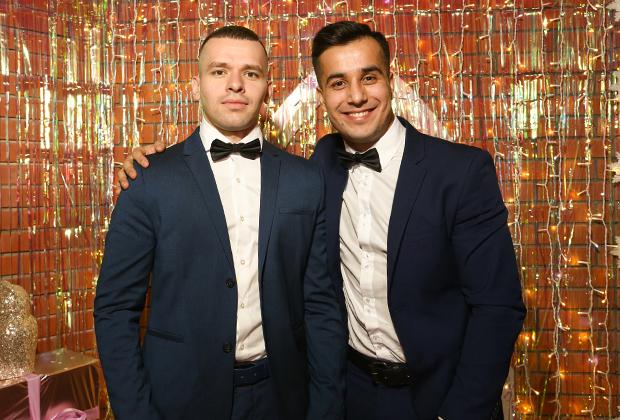 Хаём Мирзоев и Артур Степанян