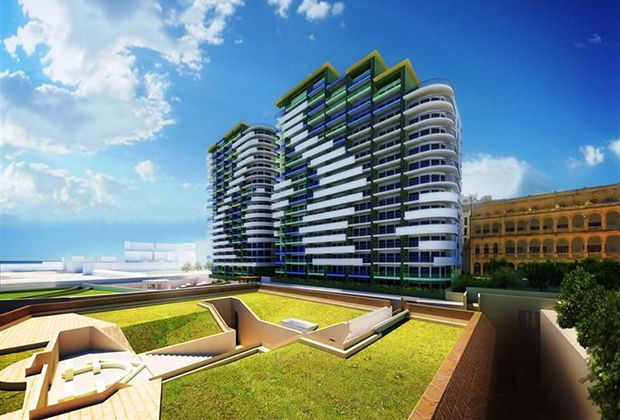 Жилой комплекс в городе Слима, Мальта