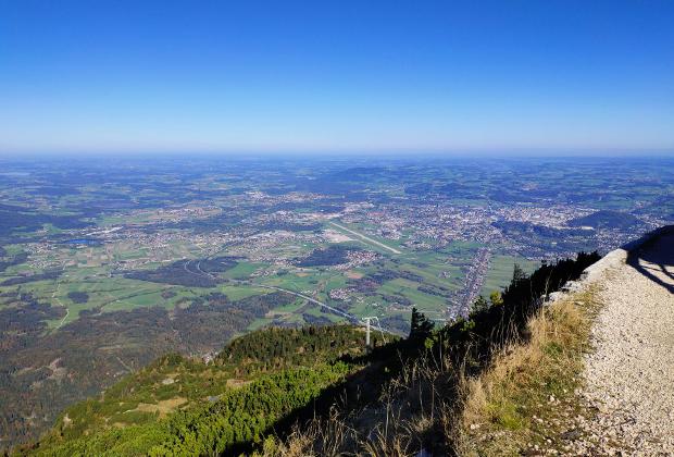 Вид на Зальцбург с горы Унтерсберг