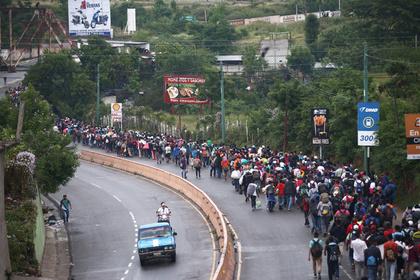 Гватемала пала перед караваном мигрантов