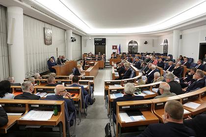 Польше приказали остановить реформу суда