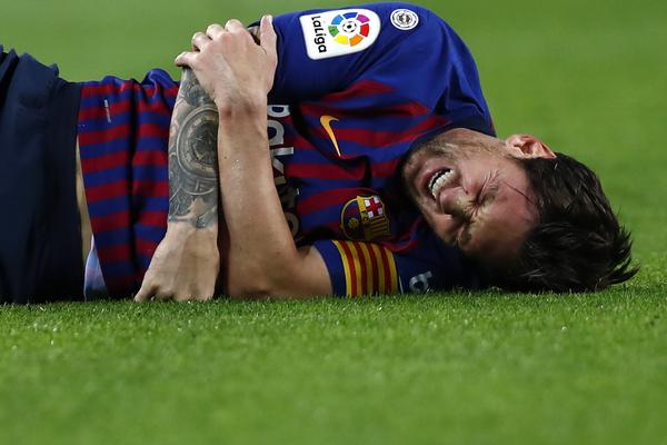 Messi was injured a week before El Clasico