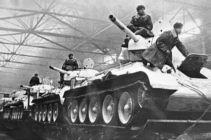 Раскрыта цена танков в годы Великой Отечественной войны
