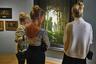 """Посетители во время пресс-показа выставки """"Архип Куинджи"""" в Государственной Третьяковской галерее"""