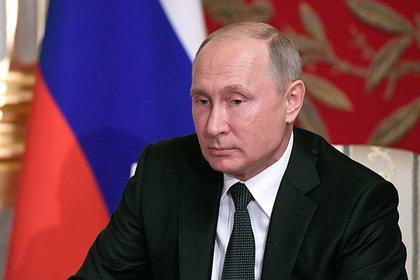 Путин распорядился о контрсанкциях против Украины