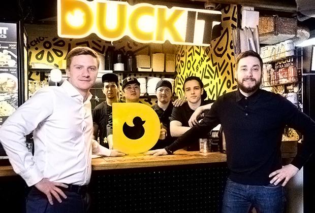 Алексей (слева) и Михаил (справа) - основатели проекта Duckit