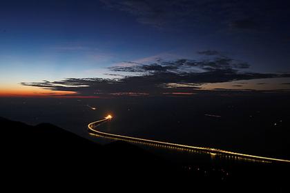 В Китае открылся самый длинный в мире мост