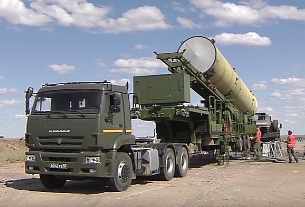 Пуск новой противоракеты системы ПРО на полигоне Сары-Шаган