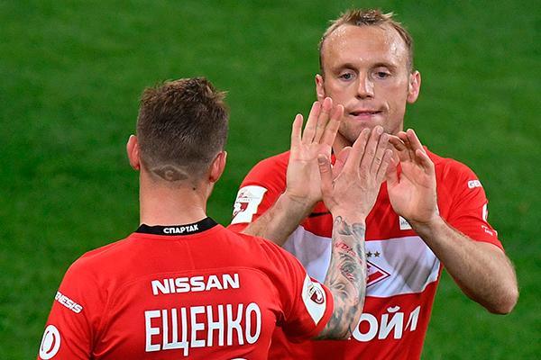 Андрей Ещенко и Денис Глушаков