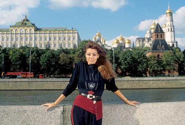 Сандра в Москве, 1989 год