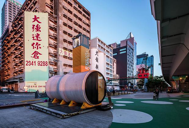 Жилье из бетонных водопроводных труб