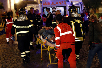 Стало известно о состоянии раненных в римском метро россиян