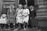 Русские крестьянки. Север России, 1919 г.