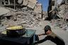 Мир пришел в Дамаск и его окрестности весной 2018 года, когда в регионе окончательно закончились бои. В апреле под контроль правительственных сил перешел последний местный оплот противников Асада — город Дума в Восточной Гуте. До этого он контролировался боевиками «Джейш аль-Ислам» — союзом протурецких группировок, поддерживаемых Саудовской Аравией. Примечательно, что в 2015 году «Джейш аль-Ислам» осудила исламистский теракт в Париже.