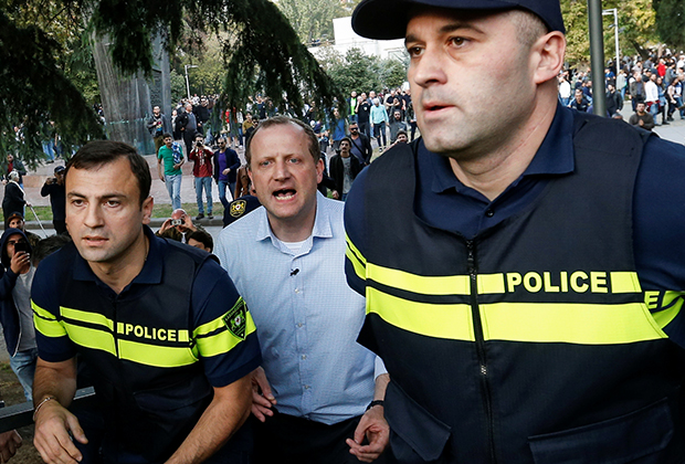 Зураба Джапаридзе задерживают на «Фестивале конопли»