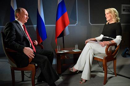Владимир Путин и Мегин Келли