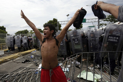 Трамп встретит караван мигрантов «железным занавесом»