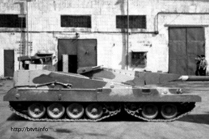 Опубликованы детали проекта советского «танка XXI века»