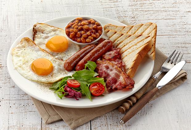 Привычный плотный завтрак Уинстона Черчилля