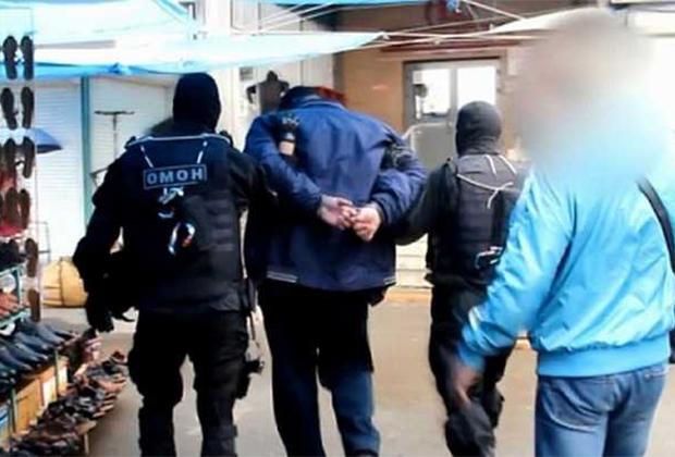 Задержание участников ОПС Ключевские