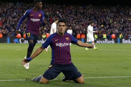 «Барселона» без Месси устроила разгром «Реалу» без Роналду